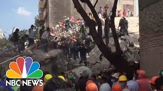Rescuers Search For Survivors After Mexico Earthquake | NBC News