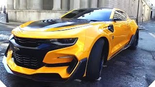 TRANSFORMERS 5 - CARS and STUNT Teaser (2017)