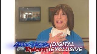 Howie Mandel Becomes Harriet The AGT Crew Member - America