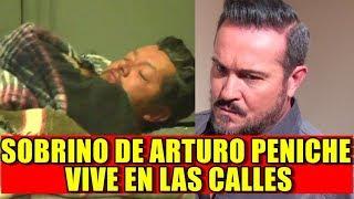 SOBRINO de Arturo Peniche de GALÁN de NOVELAS TERMINÓ en LA CALLE vive como INDIG3NT3
