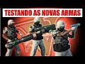 GTA 5 - TESTANDO AS NOVAS ARMAS DA DLC -...mp3