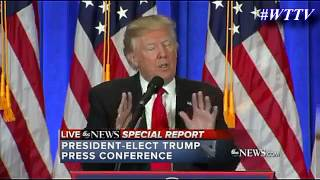 Trump Admits to Russian Hacking In First Press Conference