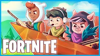 PORT-A-FORT MADNESS in Fortnite: Battle Royale! (Fortnite Funny Moments & Theater Mode)