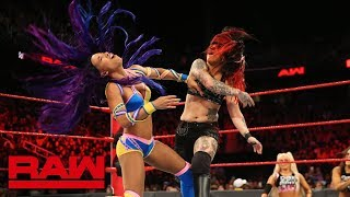 Sasha Banks vs. Ruby Riott: Raw, Aug. 13, 2018