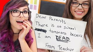 FUNNIEST KID NOTES TO PARENTS