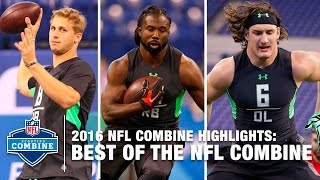 The Best Of The NFL Combine | 2016 NFL Combine Highlights