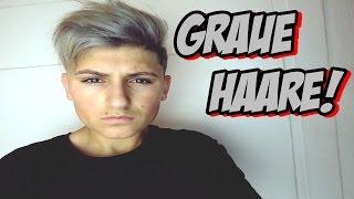 EXTREME BESTRAFUNG HAARE GRAU GEFÄRBT!!!