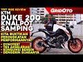 KTM Duke 200 Knalpot Samping 2018 | Test...mp3