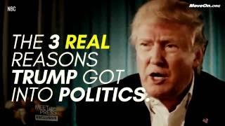 Al Franken Reveals The 3 REAL Reasons Donald Trump Got Into Politics