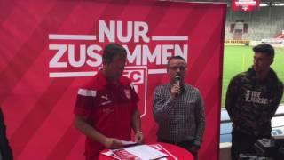 """HFC-Sportdirektor Böger: """"Die Pfiffe nehme ich auf meine Kappe"""""""