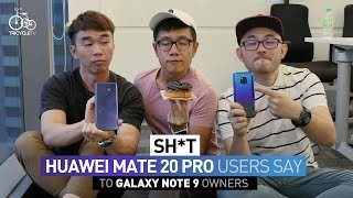 Sh*t Huawei Mate 20 Pro User Says to Samsung Note 9 Owner | TricycleTV