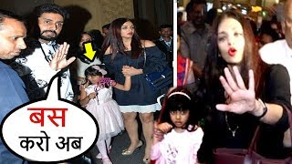 Abhishek Bachchan Lashes Out As Paparazzi Harass Aishwarya Rai & Daughter Aradhya On Birthday