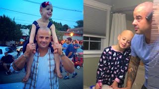 Dad Shaves Head to Cheer Up Daughter Who Lost Hair to Alopecia