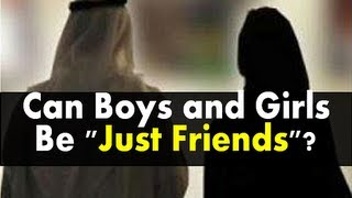 "Can Boys and Girls Be ""Just Friends""? | Ustadh Nouman Ali Khan"