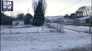 Winter wonderland: Snow spotted around South Africa