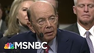 Wilbur Ross At Nexus Of Donald Trump Russian Deal | Rachel Maddow | MSNBC