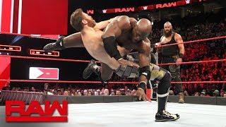 Braun Strowman & Bobby Lashley vs. Sami Zayn & Kevin Owens: Raw, April 23, 2018