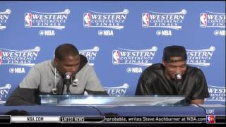 KD On Steph Curry