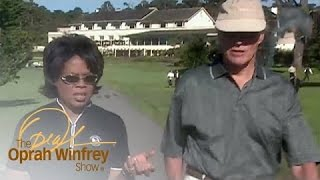 Oprah Loses Her Cool While Golfing with Clint Eastwood   The Oprah Winfrey Show   OWN