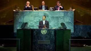 President Barack Obama at UN Climate Change Summit