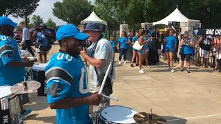PurrCussion at training camp