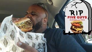 FatBurger XXXL 5 GUYS Burger KILLER