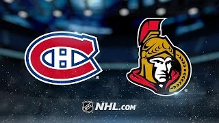 Danault, Radulov lift Habs past Sens in 4-3 SO win
