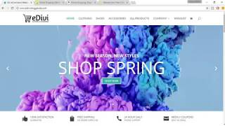 How To Create An eCommerce Website With WordPress 2017   Divi Theme Tutorial   Online Store