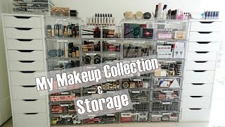 My Makeup Collection and Storage