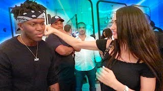 MY SISTER PUNCHED KSI !!!