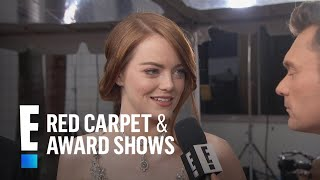 Emma Stone Makes the 2017 Golden Globes a Family Affair | E! Live from the Red Carpet