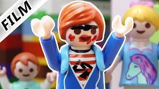 Playmobil Film Deutsch - JULIAN MIT MAKE-UP? IM SCHLAF ANGEMALT! Kinderserie Familie Vogel