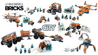 Lego City Arctic Compilation of All Sets