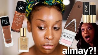 What Happens If I Try Foundations With the Same SHADE NAME?! | Jackie Aina