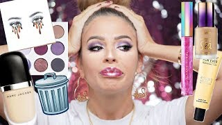 FULL FACE OF MAKEUP IM THROWING OUT!