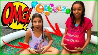 BARRIGA CHEIA DE ORBEEZ - DESAFIO VIDA DE AMY