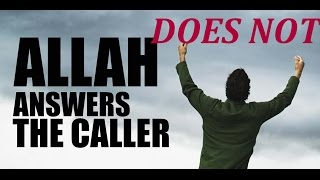 WHY ALLAH DOESN