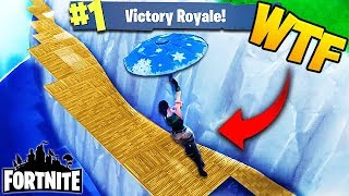 WINNING OUT OF THE MAP! - Fortnite Funny Fails and WTF Moments! #61 (Daily Best Moments)