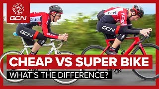 Cheap Bike Vs. Super Bike | What