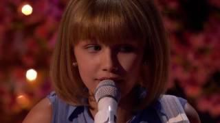 【中英字幕】2016美国达人秀冠军12岁的Grace Vanderwaal现场直播首秀:Beautiful Thing
