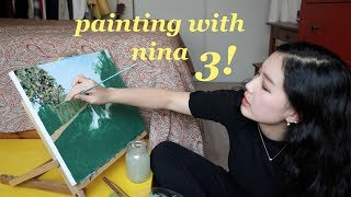 painting with nina 3 !!!
