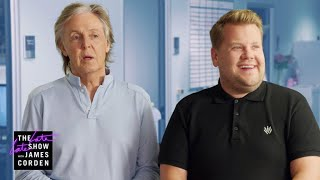 Paul McCartney Visits James Corden