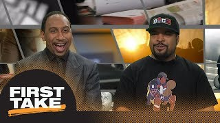 Stephen A. Smith asks Ice Cube if Lakers are worthy of LeBron James | First Take | ESPN