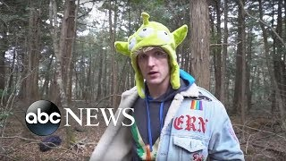 YouTube star under fire for video of apparent suicide victim