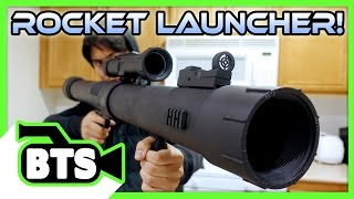 Homemade Rocket Launcher! (BTS)