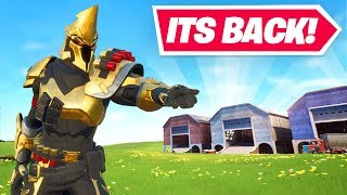 Welcome to Fortnite Season X! (DUSTY DEPOT IS BACK)