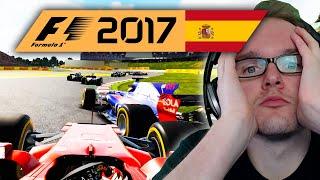 Jay fährt OHNE HILFEN! | Spanien 1/2 🎮 F1 2017 #15