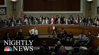 U.S. Intel Chiefs Discuss Russian Hacking, Donald Trump In Senate Hearing | NBC Nightly News
