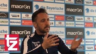 TSV 1860 Cheftrainer Pereira zum Spiel gegen Kaiserslautern