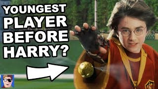 The Youngest Quidditch Player | Harry Potter Theory